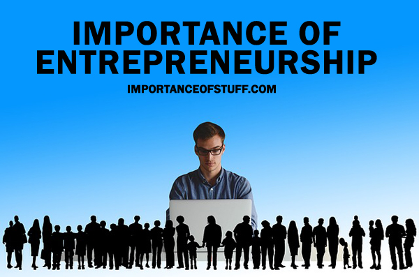 importance of entrepreneurship