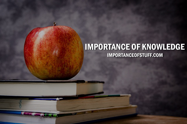 importance of knowledge