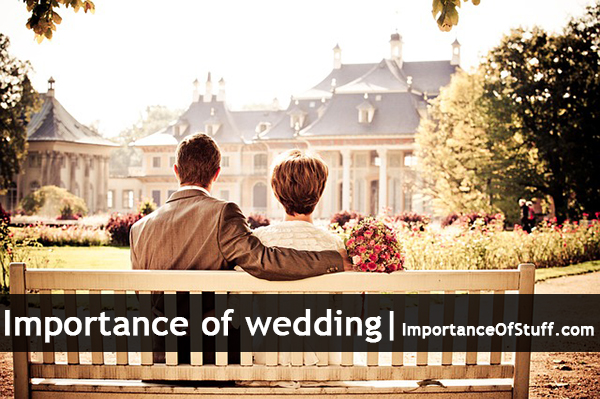 importance of wedding
