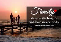 importance of family quote
