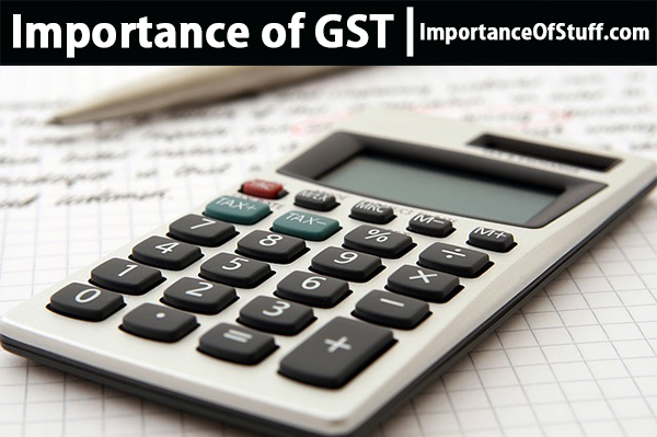 importance of gst