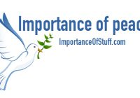importance of peace