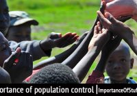 importance of population control