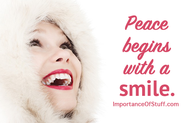 importance of smile quote