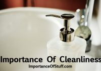 importance of cleanliness