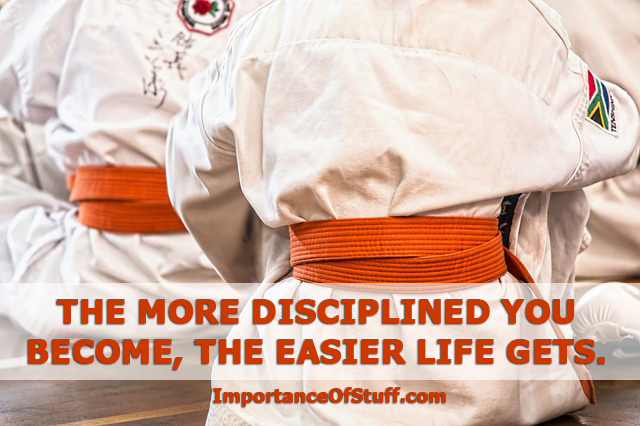 importance of discipline quote