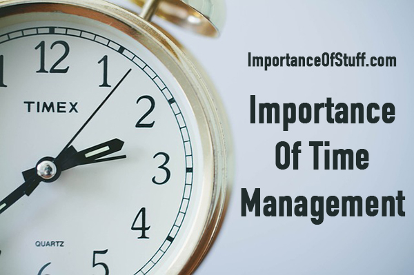 importance of time management essay and speech 6 reasons why time management is important