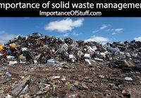 solid waste management importance