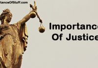 importance of justice