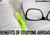 benefits of abroad study