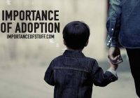 importance of adoption